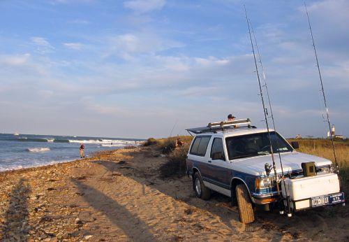 Surf fishing 9 25 04 for Surf fishing at night