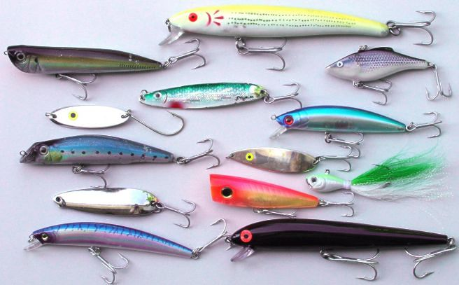 Surf lures for Surf fishing tackle